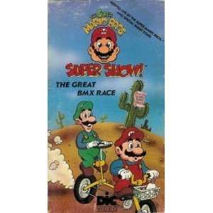 Super Mario Bros. Super Show  The Great BMX Race [VHS