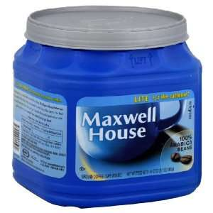 Maxwell House Coffee, Original, Lite, 33 oz (Pack of 4):
