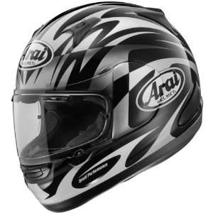 Mask Signet/Q Street Bike Racing Motorcycle Helmet   Black / Large