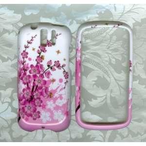 flower phone Cover Case T Mobile HTC MyTouch Slide 3G