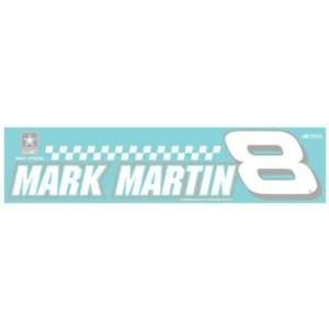 MARK MARTIN OFFICIAL NASCAR LOGO DIE CUT DECAL Sports
