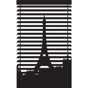 modern and contemporary eiffel tower vinyl wall stickers