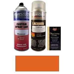12.5 Oz. Medium Orange Metallic Spray Can Paint Kit for 1989 GMC All