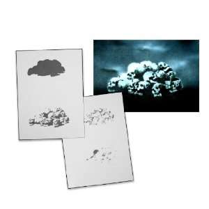 Step by Step Airbrush Stencil Template AS 056 M ca. 5,11