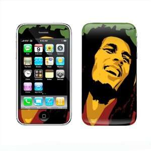 Meestick Bob Marley Vinyl Adhesive Decal Skin for iPhone