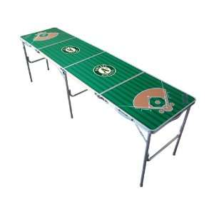 Oakland Athletics Tailgate Ping Pong Table With Net