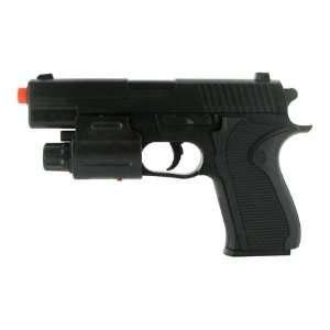 Spring 1911 Pistol FPS 150 Laser, Flashlight Airsoft Gun