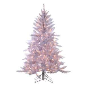 Pre Lit Designer White Ashley Spruce Artificial Christmas Tree