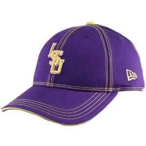 New Era LSU Tigers Purple Double Stitch Hat