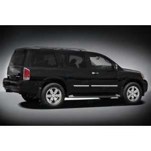 2004 10 Nissan Armada Chrome Tail Light Covers Automotive