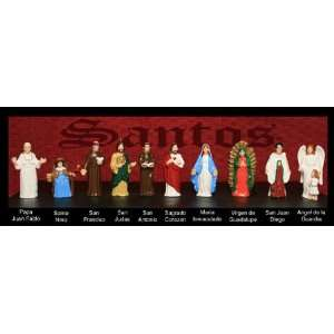 HOMIES SANTOS COLLECTION!!! HOMIES RELIGIOUS FIGURINES!!: Toys & Games