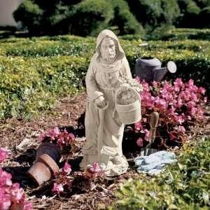 Religious Christina Gardener Statue Sculpture Figurine