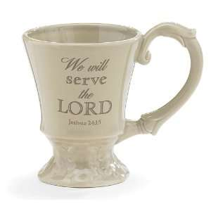 Set Of 4 Inspirational Coffee Mugs/Cups Religious Message