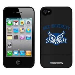 Rice University Mascot on Verizon iPhone 4 Case by Coveroo