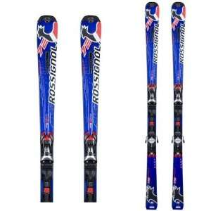 ROSSIGNOL AVENGER 72 TPI2 ALPINE SKIS WITH AXIUM 110 BINDINGS
