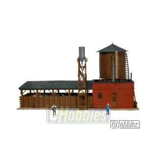 Model Power HO Scale Steam Locomotive Supply Building
