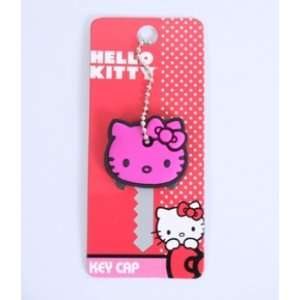 Hello Kitty Pink Face Key Cap