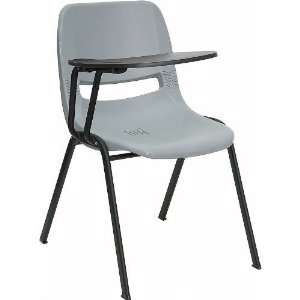 Flash Furniture RUT EO1 GY RTAB GG Ergonomic Shell Chair in Gray with