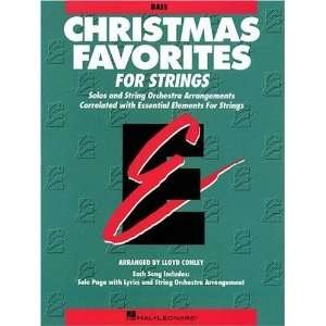 Elements Christmas Favorites String Bass [Paperback] Various Books