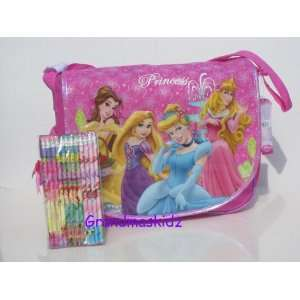 Bag W/ 12 Pencils Tangled, Cinderella, Sleeping Beauty Toys & Games