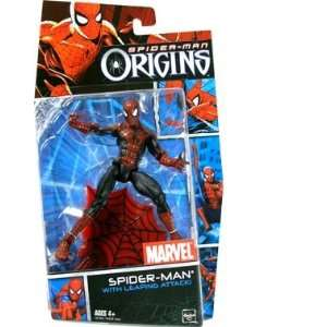 Man Origins Hero   Classic Spider Man with Leap Action Toys & Games