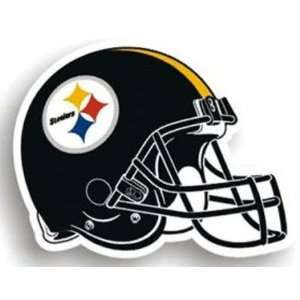 Pittsburgh Steelers Helmet Car Magnets (Set of 2) Sports