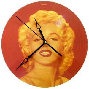 Marilyn Monroe Clock   Some Like It Hot Picture Disc: Home & Kitchen