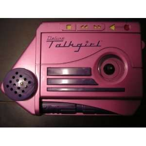 Deluxe Talkgirl Cassette Tape Recorder w/ Voice Changer as