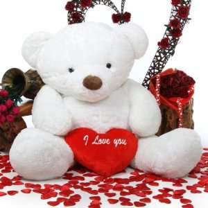 You Heart Valentines Day Plush Teddy Bear by Giant Teddy Toys & Games