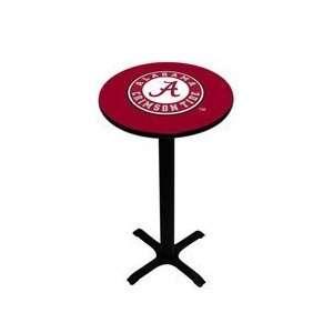 Alabama Crimson Tide Pedestal Pub Table NCAA College Athletics Fan