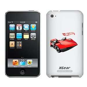 Hot Wheels twin mill red on iPod Touch 4G XGear Shell Case