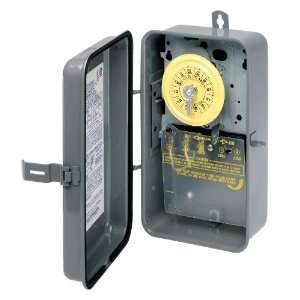 T101R 120 Volt SPST 24 Hour Mechanical Time Switch with Outdoor Case