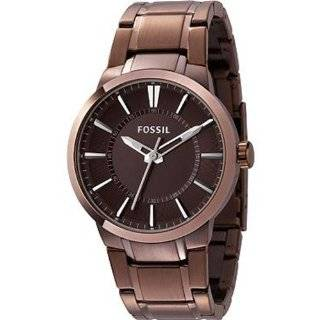 Fossil Dress Stainless Steel Watch   Brown Fossil Watches