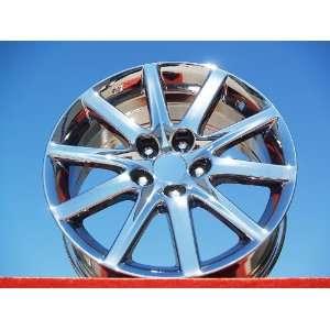 Lexus GS300 Set of 4 genuine factory 17inch chrome wheels Automotive