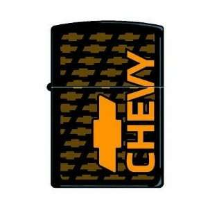 Zippo Limited Chevy Black Matte Zippo Lighter Sports