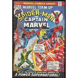 Marvel Team Up, v1 #16. Dec 1973 [Comic Book] Marvel