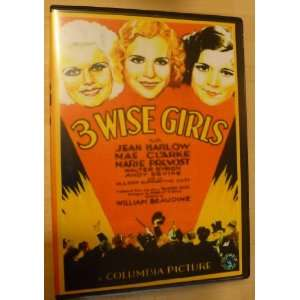 Three Wise Girls 1932 DVD Jean Harlow & Mae Clark [All Region] NTSC