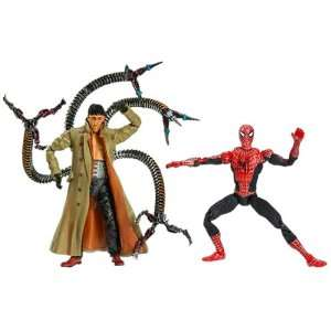 Man Origins Battle Packs Spider Man vs. Doctor Octopus Toys & Games