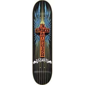 DEATHWISH GRECO ANGEL DUST DECK  8.12: Sports & Outdoors