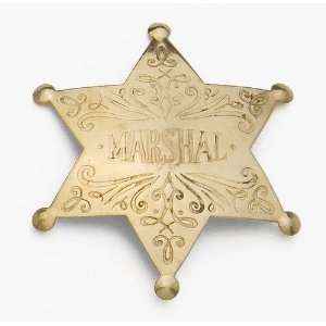 BRASS MARSHALL BADGE: Everything Else