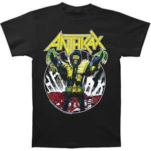 Anthrax   T shirts   Band Clothing