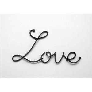Metal Wall Word Art Sign Quote Love Home & Kitchen