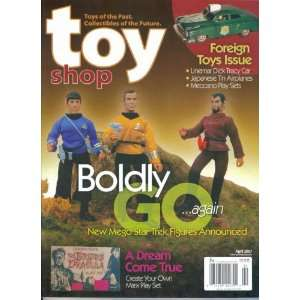 Toy Shop Magazine #393 : Boldly Go Again   New Mego Star Trek Figures