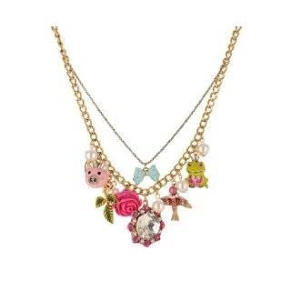 Betsey Johnson Jewelry Tzarna Princess Jeweled Heart