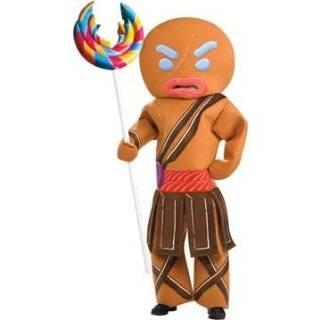 Shrek Gingerbread Man Child Costume Size Large Toys