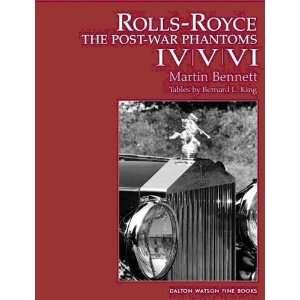 Rolls Royce (9781854432209) Martin Bennett Books