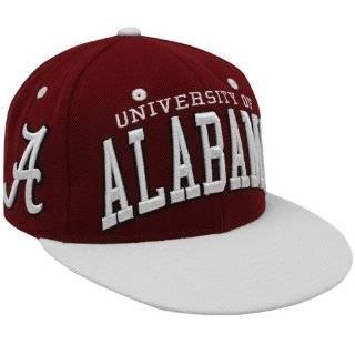 NCAA Zephyr Alabama Crimson Tide Crimson Cream Superstar Snapback Hat