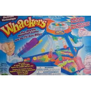 Operated Whackers Game   The Marble Shootout Game with Sonic Sounds