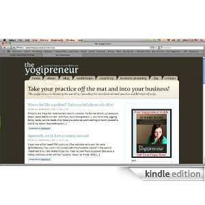 Notes from The Yogipreneur Kindle Store http//www