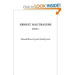 Ernest Maltravers, Book 1 Edward Bulwer Lytton 9781414284910